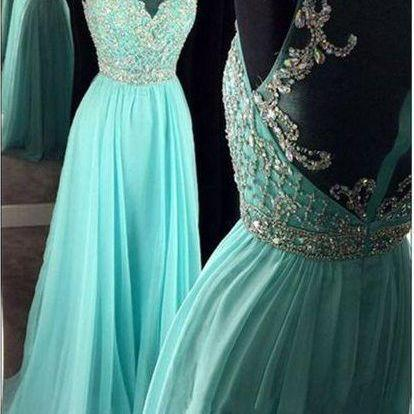 turquoise blue prom dress, lace app..