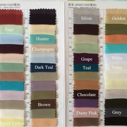 By post- Fabric Sample Color Swatch..