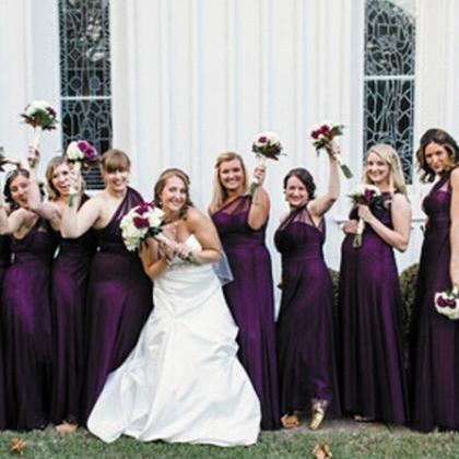 Plum Bridesmaid Dresses, One Should..