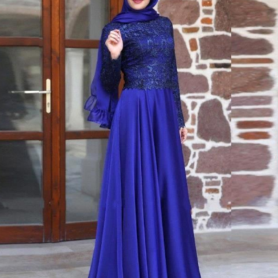 Muslim Evening Dress, Hijab Evening..