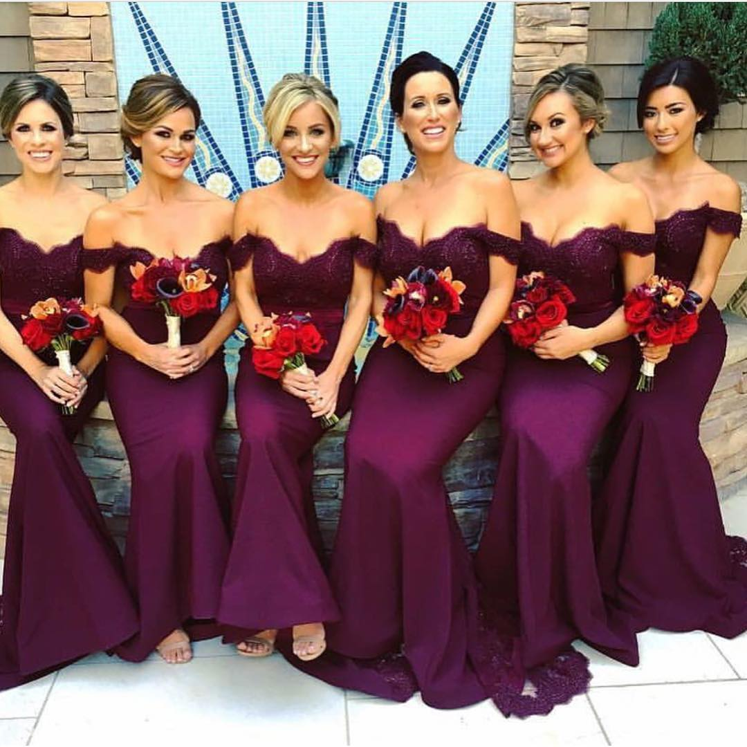 Purple Bridesmaid Dress 4f6d5c24bb0c