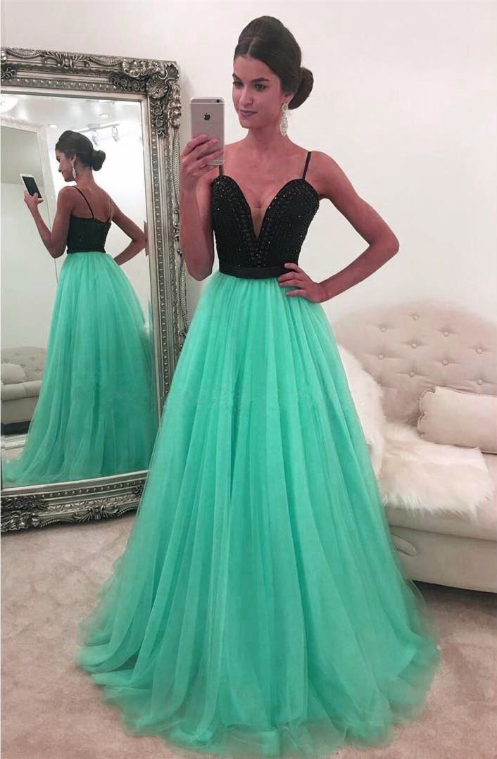 Mint Green Prom Dress a1abd0d1bb