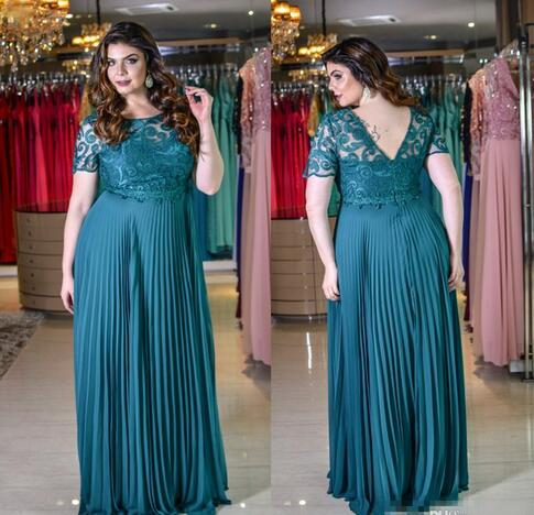 Plus Size Prom Dress, Maternity Prom Dress, Lace Prom Dress, Teal Blue Prom  Dress, A Line Prom Dress, Chiffon Prom Dress, Prom Dresses 2018, Elegant ...