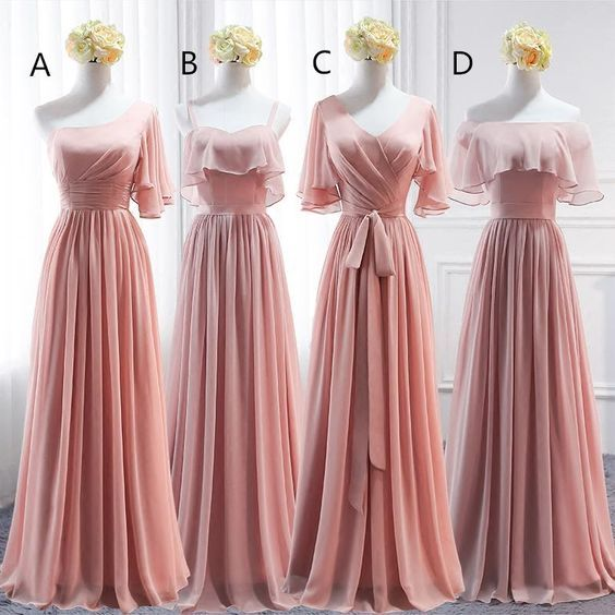 pink bridesmaid dresses, bridesmaid dresses long, mismatched bridesmaid dresses, cheap bridesmaid dress, wedding guest dresses, 2021 bridesmaid dresses, custom bridesmaid dresses, bridesmaid dresses 2021