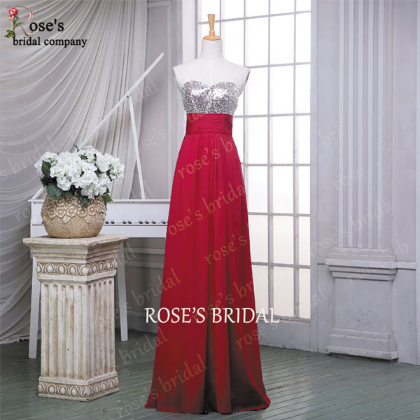 Long Evening Dresses, Red Evening Dress, Sequin Evening Dress, Cheap Prom Dresses, Chiffon Prom Dress, Prom Dress 2015, Sexy Formal Party Dresses