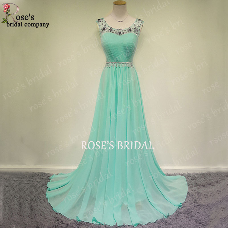 6649a66635e8 Tiffany Blue Prom Dress