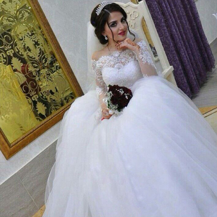 Said Mhamad Wedding Dresses, Off The Shoulder Wedding Dress, Lace ...