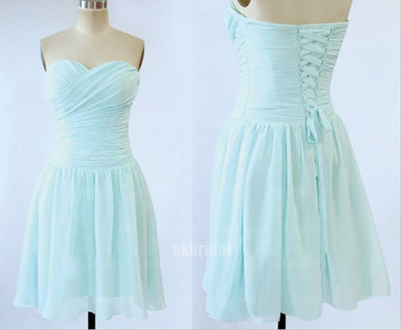 Juner Light Teal Bridesmaid Dresses