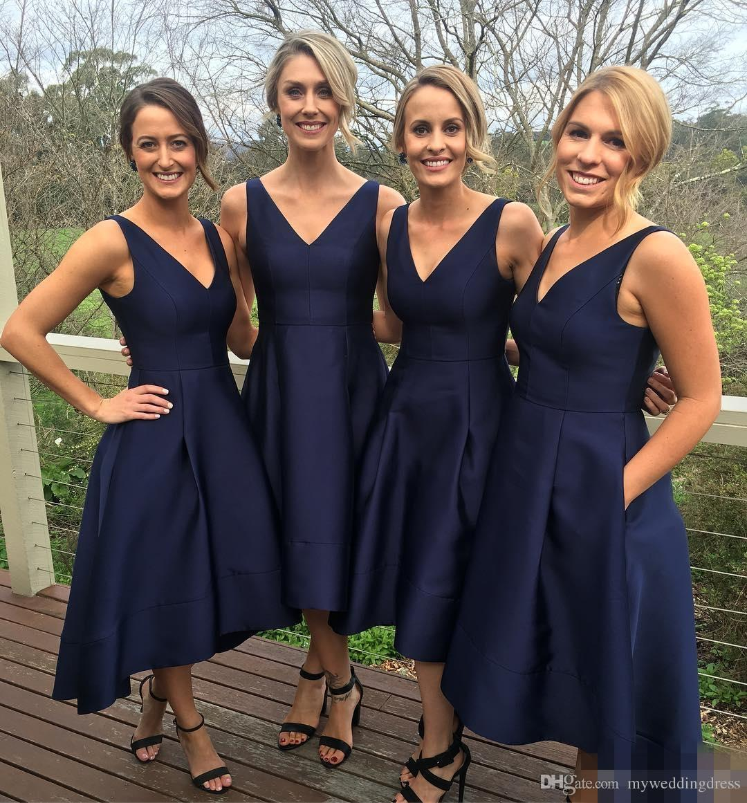 Short bridesmaid dress navy blue bridesmaid dress cheap short bridesmaid dress navy blue bridesmaid dress cheap bridesmaid dress knee length bridesmaid dress satin bridesmaid dress vintage bridesmaid dress ombrellifo Image collections