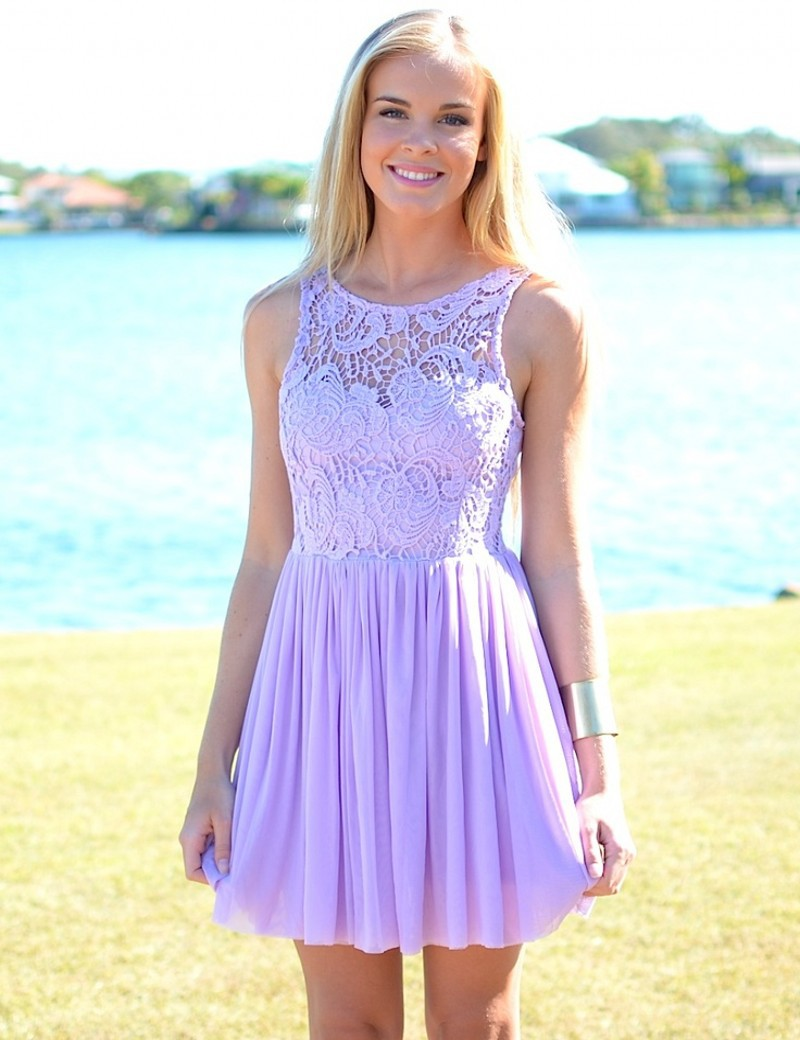 Short Lavender Bridesmaid Dresses | Good Dresses