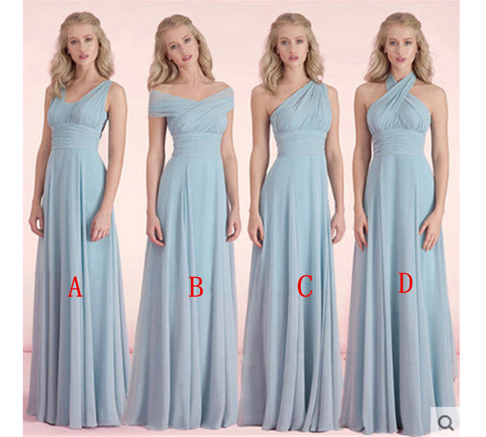 Blue bridesmaid dress mismatched bridesmaid dress long bridesmaid blue bridesmaid dress mismatched bridesmaid dress long bridesmaid dress cheap bridesmaid dress bridesmaid dresses 2017 wedding party dresses ombrellifo Gallery