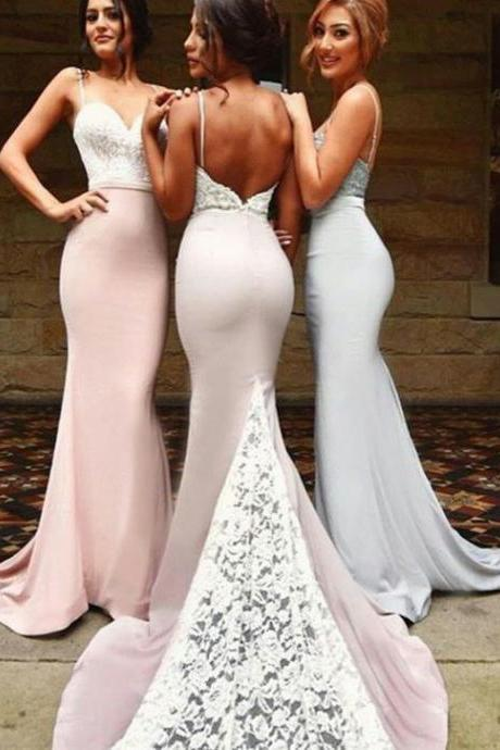 Wedding Party Dress, Lace Bridesmaid Dress, Bridesmaid Dresses Long, Lace Bridesmaid Dress, Cheap Bridesmaid Dress, Mermaid Bridesmaid Dress, Elegant Bridesmaid Dress, Wedding Guest Dress