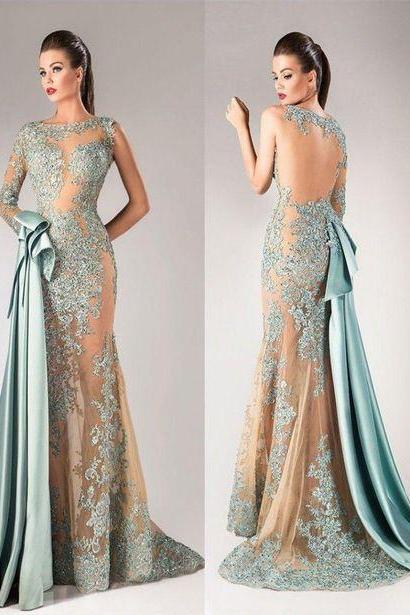 dusty blue evening dress, mermaid evening dress, detachable train evening dress, modest evening dress, vestido de festa de longo, elegant evening dress, evening gowns, formal party dress, 2020 evening dresses, vestido de festa, cheap evening dress