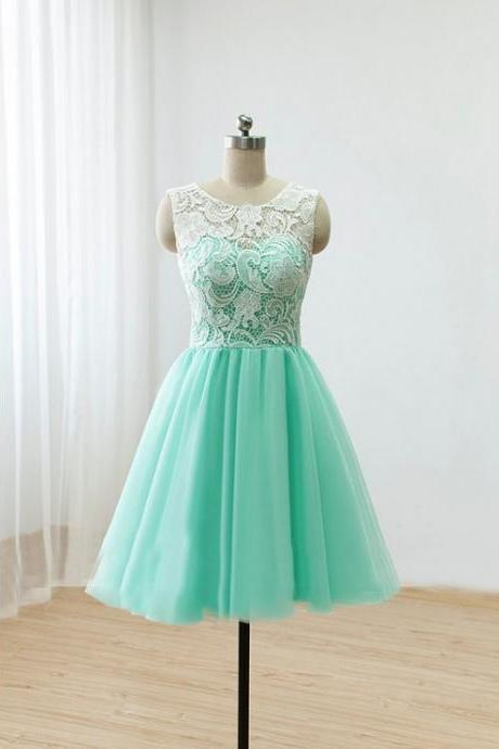 mint green bridesmaid dress, bridesmaid dresses short, lace bridesmaid dresses, short bridesmaid dress, tulle bridesmaid dress, custom bridesmaid dresses, 2020 bridesmaid dresses, robe de soiree, 2020 bridesmaid dresses short