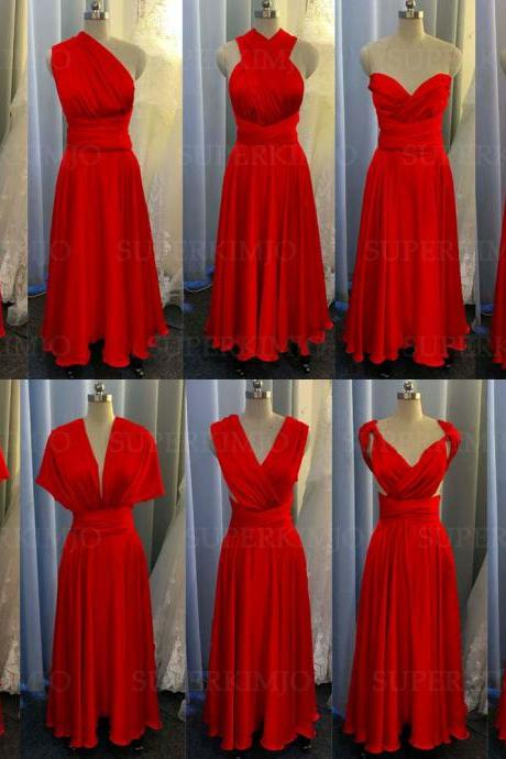 red bridesmaid dresses, convertible bridesmaid dresses, 2021 bridesmaid dress, satin bridesmaid dresses, cheap bridesmaid dresses, infinite bridesmaid dresses, bridesmaid dresses long, elegant bridesmaid dresses