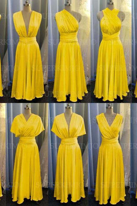 infinite bridesmaid dresses, bridesmaid dresses long, yellow bridesmaid dresses, wedding party dresses, wedding guest dresses, cheap bridesmaid dresses, convertible bridesmaid dresses, 2021 bridesmaid dresses, custom bridesmaid dresses, bridesmaid dresses 2020
