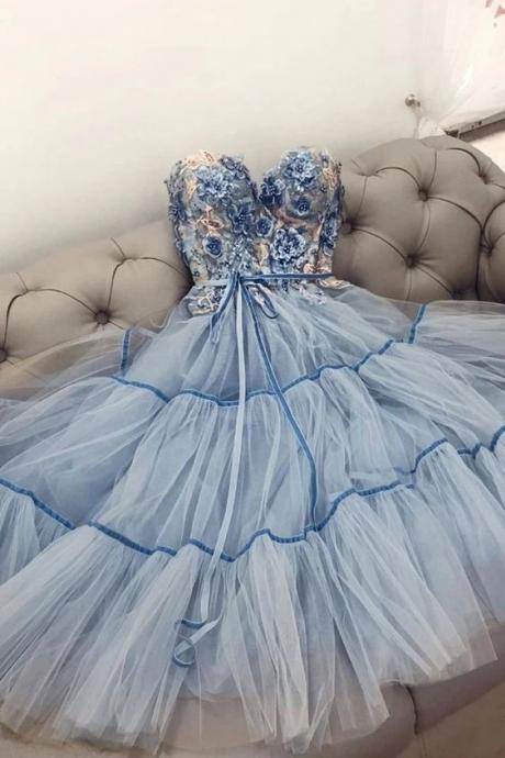 blue prom dresses, beaded prom dress, floral prom dresses, sweetheart neck prom dresses, 2021 prom dresses, cheap prom dresses, prom dresses long, vestido de longo, 2020 prom dresses, senior prom dresses