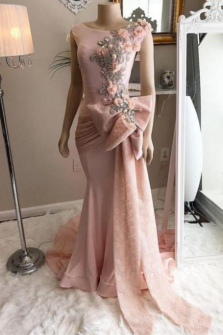 cap sleeve evening dress, pink evening dresses, lace applique evening dresses, 2021 evening dress, beaded evening dresses, vestido de fiesta, custom make evening dress, vestido de longo