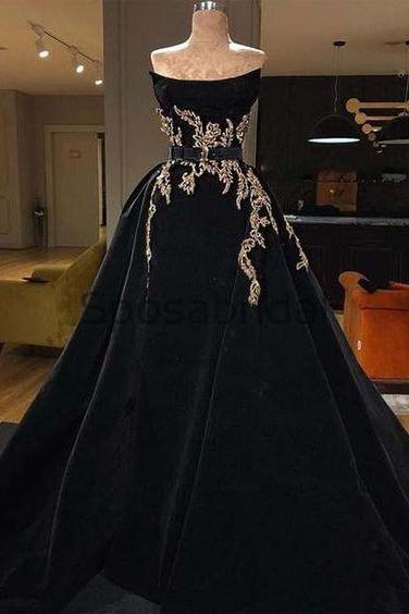 velvet prom dress, vintage prom dresses, prom ball gown, black prom dresses, prom dresses 2020 with overskirt, detachable skirt prom dresses, 2021 prom dresses, elegant prom dresses