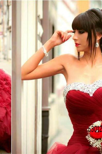 Sweet 16, Burgundy Quinceanera Dresses, Princess Quinceanera Dress, Beautiful Prom Gowns, Prom Ball Gowns, Cheap Quinceanera Dress, Elegant Formal Party Dress, Wine Red Graduation Dresses, Dance Dresses