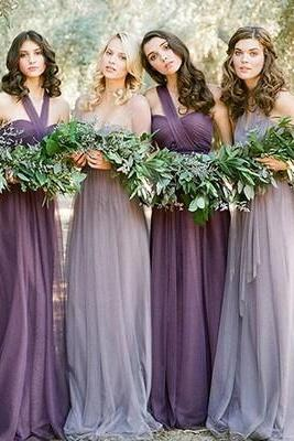 Convertible Bridesmaid Dress, Purple Bridesmaid Dress, Silver Bridesmaid Dress, Cheap Bridesmaid Dress, Long Bridesmaid Dress, Ever Pretty Bridesmaid Dress, Elegant Formal Party Dress, Chiffon Dresses For Weddings, Wedding Guest Dresses