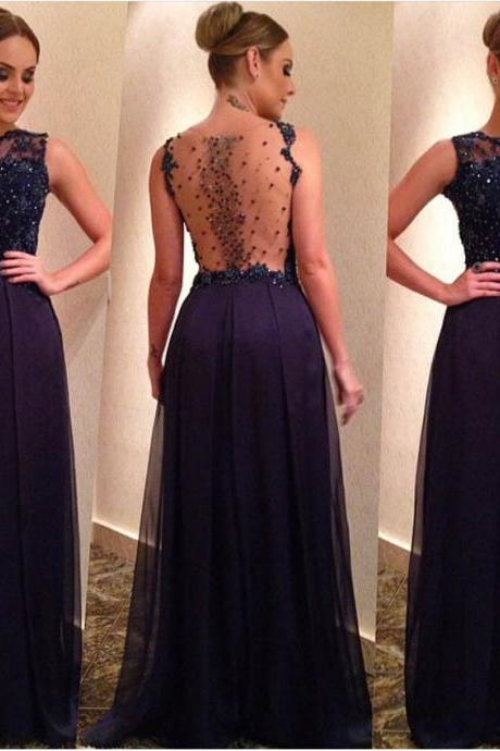 Navy Blue Prom Dress, Rhinestones Prom Dress, Glitter Prom Dress, Off Shoulder Prom Dress, A Line Prom Dress, Tulle Prom Dress, Lace Prom Dress, Vintage Prom Dress
