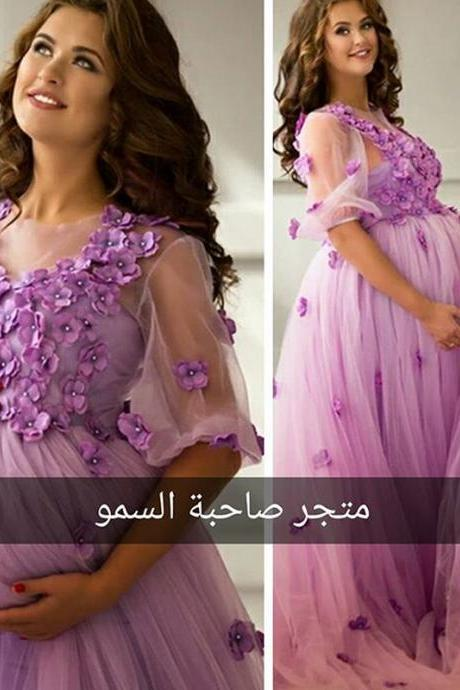 Mother Daughter Matching Dresses, Purple Prom Dresses, Floral Prom Dresses, Long Prom Dresses, Cheap Prom Dresses, Pregnant Prom Dresses, Plus Size Prom Dresses, 2017 Prom Dresses