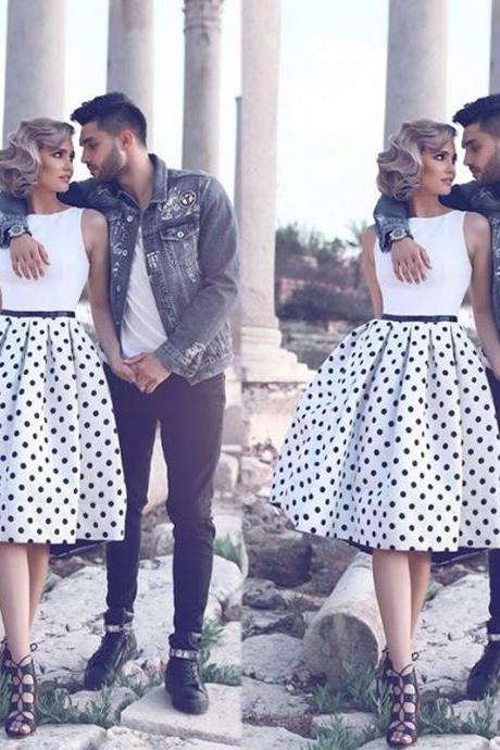 Printed Prom Dress, Cheap Graduation Dresses, A Line Prom Dress, Short Prom Dress, Knee Length Prom Dress, Satin Prom Dress, Prom Dresses 2017, Custom Prom Dress, Graduation Dresses 2017, Off Shoulder Prom Dress, Prom Dresses 2017