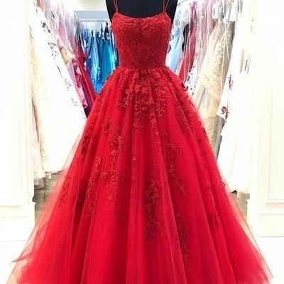 lace applique prom dress, red prom dress, elegant prom dress, boat neck prom dress, prom gown, vestido de festa de longo, cheap prom dress, 2020 prom dresses, vestido de longo, simple prom dress, prom gowns