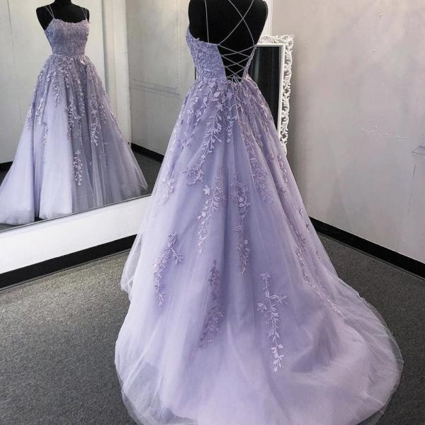 purple prom dresses, lace applique prom dresses, elegant prom dress, pageant dresses for women, cheap prom dresses, lavender prom dresses, vestido de longo, 2021 prom dresses, senior formal dresses