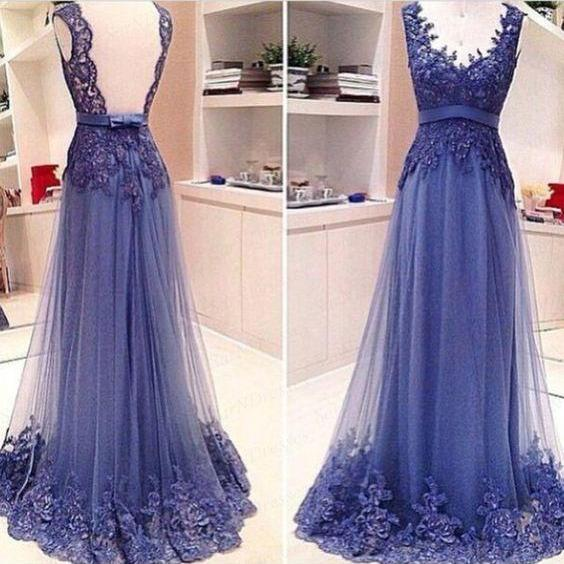 elegant prom dresses, blue prom dress, sleeveless prom dresses, 2021 prom dresses, robe de soiree, vestidos de fiesta, cheap prom dresses, prom gown, elegant prom dresses, prom dresses 2020, evening gown , lace applique prom dresses