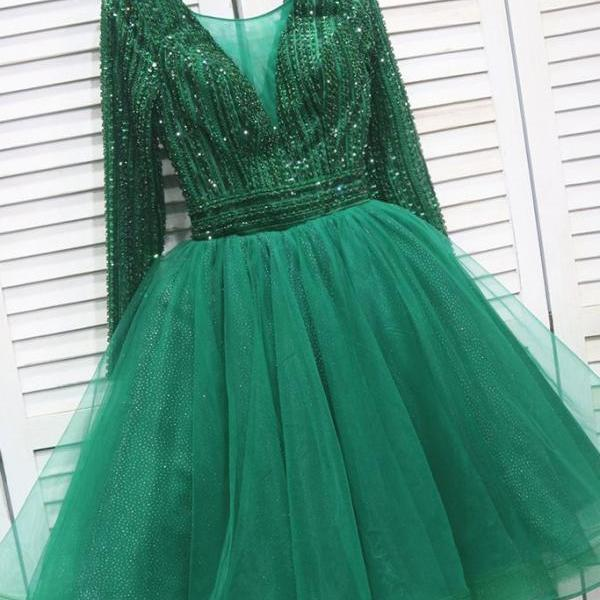 cocktail dresses, short prom dresses, beaded prom dresses, long sleeve prom dresses, 2021 prom dresses, homecoming dresses short, vestido de graduacion, cocktail dresses