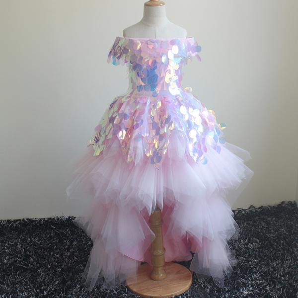 sparkly flower girl dress, kids prom dress, pageant little girl dresses, pink flower girl dress, baby girl dresses, cheap baby girl dresses, cute flower girl dresses