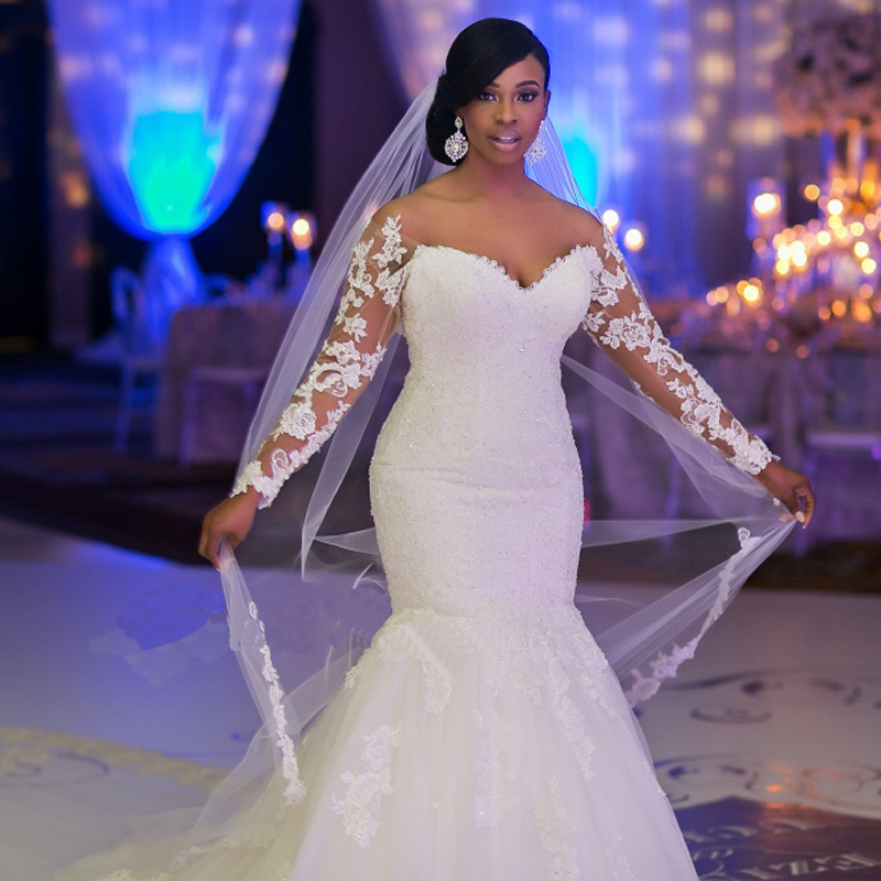 41bb862a9fda1 Mermaid Wedding Dress